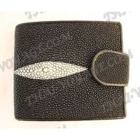 Purse female stingray leather - TV000653