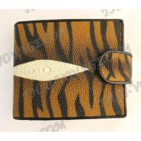 Purse female stingray leather - TV000654