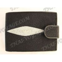 Purse male stingray leather - TV000658