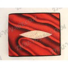 กระเป๋าหนังปลากระเบนชาย - TV000660
