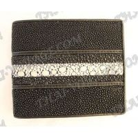 Purse male stingray leather - TV000663