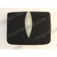 Purse female stingray leather - TV000667