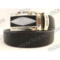 Belt male stingray leather - TV000670