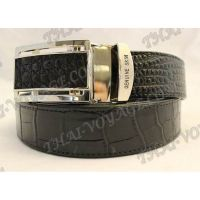 Belt male crocodile leather - TV000679