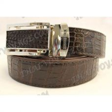 Belt male crocodile leather - TV000680