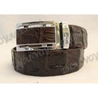 Belt male crocodile leather - TV000682