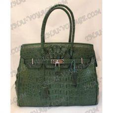 Bag Damen Leder Krokodil - TV000700