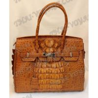 Sac dames de crocodile en cuir - TV000703