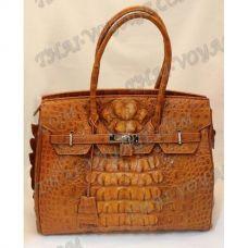 Bag Damen Leder Krokodil - TV000703