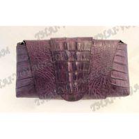 Frizione femminile pelle di coccodrillo - TV000716