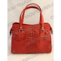 Bag Damen Leder Krokodil - TV000719