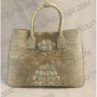 Bag Damen Leder Krokodil - TV000720