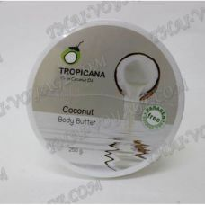 Organic coconut cream oil body without parabens Tropicana - TV000739