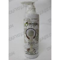Organic coconut shampoo without paraben Tropicana - TV000744