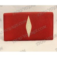 Clutch female stingray leather - TV000758