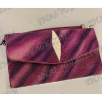 Clutch female stingray leather - TV000759