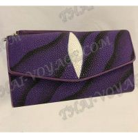 Clutch female stingray leather - TV000760