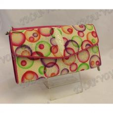 Clutch female stingray leather - TV000764