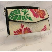 Clutch female stingray leather - TV000765