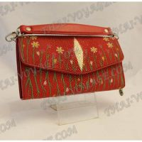 Clutch female stingray leather - TV000766