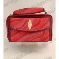 Bag-clutch stingray leather - TV000767