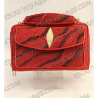 Bag-clutch stingray leather - TV000768