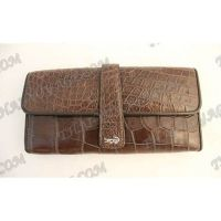 Purse female crocodile leather - TV000776