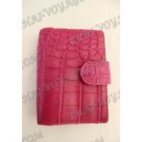 Business card holder crocodile leather - TV000780