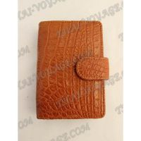 Business card holder crocodile leather - TV000781