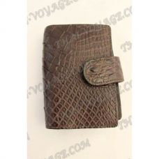 Business card holder crocodile leather - TV000782