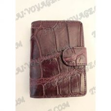 Business card holder crocodile leather - TV000783