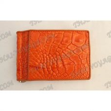 Clip banknotes crocodile leather - TV000784