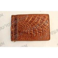 Clip banknotes crocodile leather - TV000786