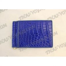 Clip banknotes crocodile leather - TV000791