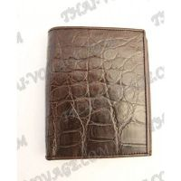 Wallet male crocodile leather - TV000793