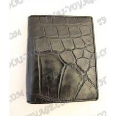 Portafoglio maschile pelle di coccodrillo - TV000794