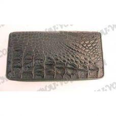 Portafoglio donna in pelle di coccodrillo - TV000798