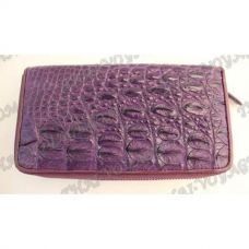 Portafoglio donna in pelle di coccodrillo - TV000800