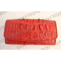 Purse female crocodile leather - TV000811