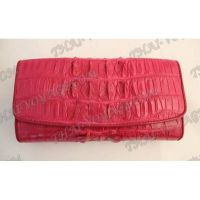 Purse female crocodile leather - TV000812