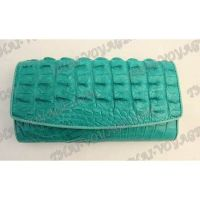 Purse female crocodile leather - TV000817