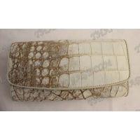 محفظة جلد المرأة التمساح - TV000819