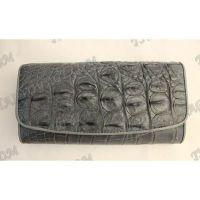 محفظة جلد المرأة التمساح - TV000824