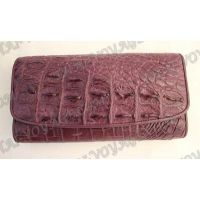 Purse female crocodile leather - TV000825