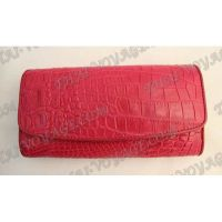 Purse female crocodile leather - TV000827