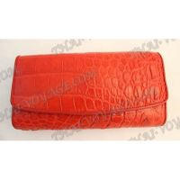 Purse female crocodile leather - TV000829