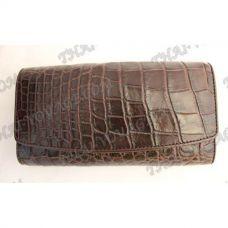 Purse female crocodile leather - TV000833
