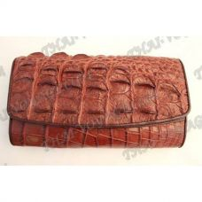 Кошелек женский из кожи крокодила - TV000834