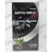 Capsules for potency Kaempferia Parviflora, Black Galingale, Kra Chai Dam - TV000838