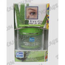 Feuchtigkeitsspendende und Anti-Aging-Gel für die Haut um die Augen Yoko - TV000882